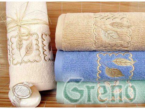 Ręcznik Greno Gracja 30x50 Niebieski