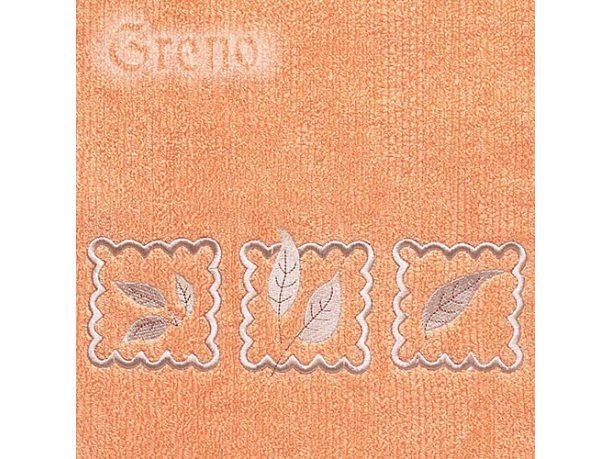 Ręcznik Greno Gracja 30x50 Pomarańczowy