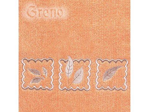 Ręcznik Greno Gracja 50x100 Pomarańczowy