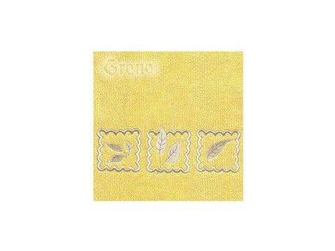 Ręcznik Greno Gracja 30x50 Żółty