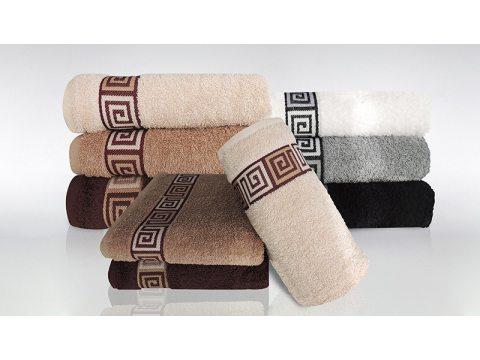 Ręcznik Greno Dunaj 30x50 Brązowy Frotex