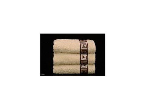Ręcznik Greno Dunaj 70x140 Kremowy Frotex