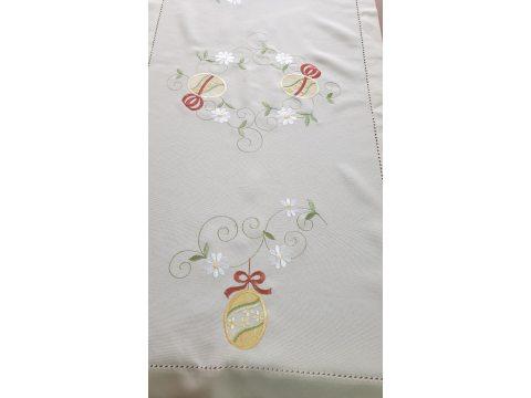 Bieżnik świąteczny - Pisanki - 50x100 cm - Wielkanoc - INT 0319