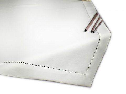 Bieżnik z mereżką 85x85 biały