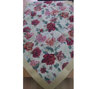 Bieżnik - z motywem róż - 90x90 cm - Gobelin