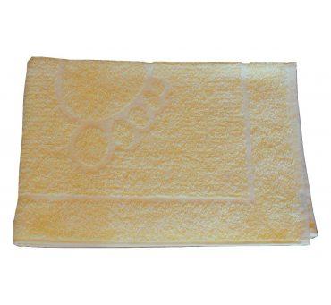 Dywanik łazienkowy Stopki  50x70 cm Żółty   Greno