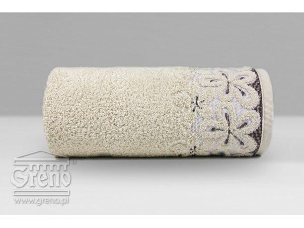 Ręcznik Greno  Bella 50x90 Beżowy