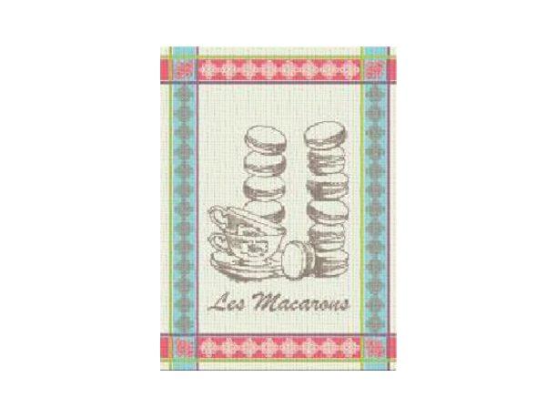 Ściereczka kuchenna Nowo Gusto 50x70 cm Macarons niebieski