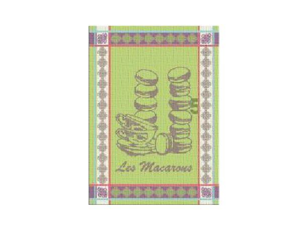 Ściereczka kuchenna Nowo Gusto 50x70 cm Macarons zielony