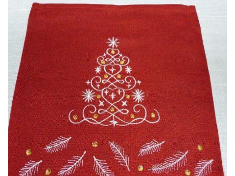 Serwetka świąteczna  Chioneczka  25x25 cm    int 197