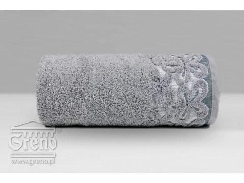 Ręcznik Greno  Bella 70x140  popielaty