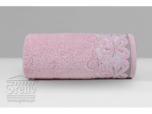 Ręcznik Greno  Bella 50x90 różany