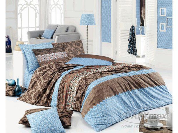 Pościel z  bawełny  160x200 Hera Blue    R51412/2