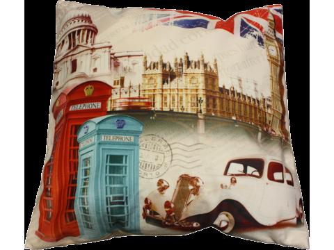 Poszewka  Dekoracyjna Foto 40x40 cm  Londyn 13529