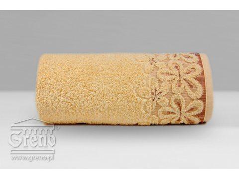 Ręcznik Greno  Bella 50x90 morelowy