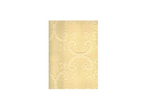 Narzuta  Żakard - Żółty -  220 x 260 cm -  Barok Żółty - Greno