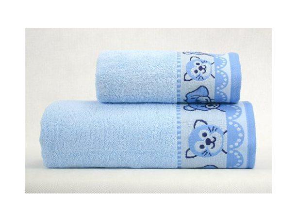 Ręcznik dla dzieci  Misie New 70 x 125   Niebieski  Greno