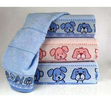 Ręcznik  dla dzieci Misie New  70x125   Różowy  Greno