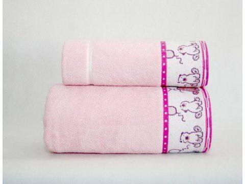 Ręcznik  dla dzieci Sweet Bear 50 x 70 Różowy Greno