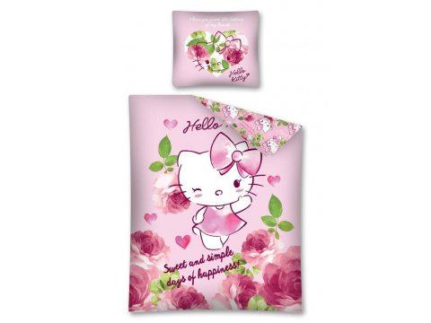 Pościel licencyjna 160x200  Hello Kitty   HK 23