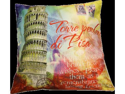 Poszewka dekoracyjna Foto  40x40 Wieża w Pizie 13532
