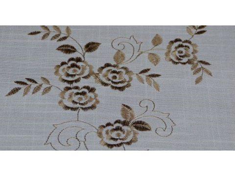 Obrus  dekoracyjny haftowany 140x220  cm int 227