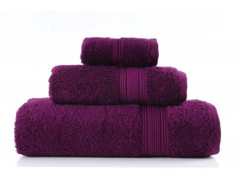 Ręcznik Egyptian Cotton 50x90 Śliwkowy Greno bawełna egipska