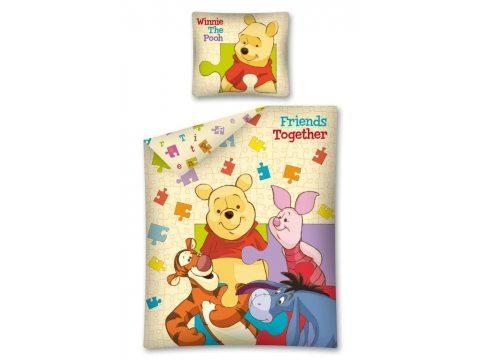 Komplet pościeli dziecięcej  Winnie the Pooh / Kubuś Puchatek 140x200   WTP 09