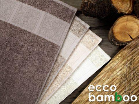 Ręcznik Ecco Bamboo 50x90 Brązowy Greno