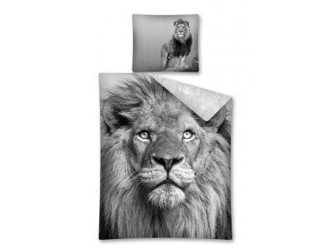 Komplet pościeli dla dzieci 160x200 Lew 2325 A Wild Animals