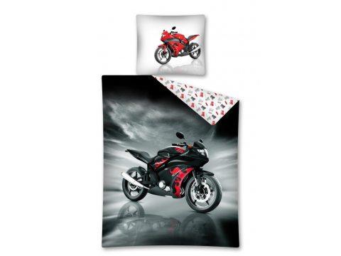 Komplet pościeli młodzieżowej 140x200 Motor 2342 A Speed Bikers