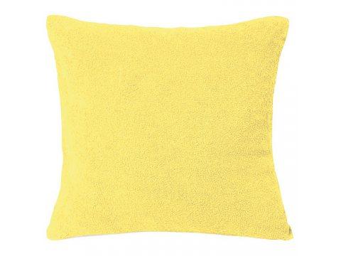 Poszewka na poduszkę Frotte 40x40  Cytrynowa int 026