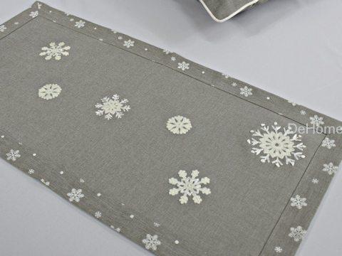 Nakładka świąteczna 35x70 cm Śnieżynka 15938