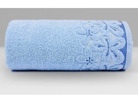 Ręcznik Greno Bella 30x50 Błękitny