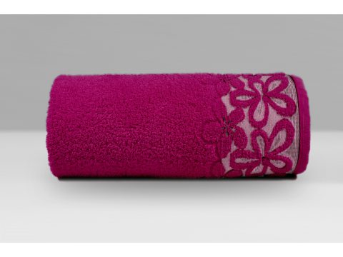 Ręcznik Greno Bella 30x50 Fuksja