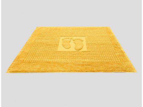 Dywanik łazienkowy Stopki Kolor  50x70 cm  Żółty