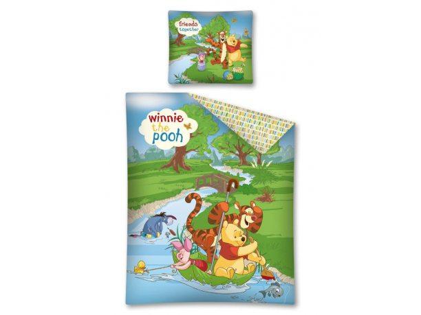 Komplet pościeli dziecięcej  Winnie the Pooh / Kubuś Puchatek 160x200   WTP 11