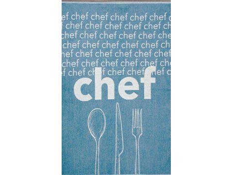 Ściereczka kuchenna - Chef - ze sztućcami -  50x70 cm - Nowo Gusto - Greno