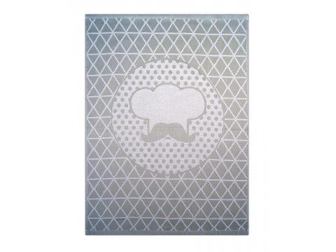 Ściereczka kuchenna - Cook Stalowy -  srebrna - 50x70 cm - Exclusive Greno