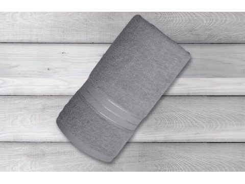 Ręcznik Fit - popielaty -...
