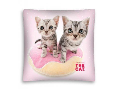 Poszewka licencyjna - microfibra - 40x40 cm - The Cat 04 - Kot