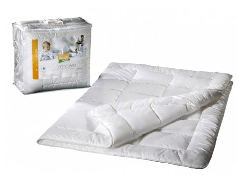 Kołdra letnia - antyalergiczna - biała - 140x200 cm - Hollofil® Allerban® - AMW
