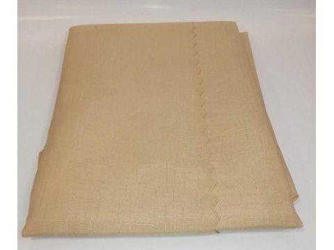 Obrus Plamoodporny 150 x 450  Len  Capuccino
