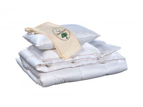 Poduszka puchowa - trzykomorowa - 50x60 cm - świeży puch gęsi - Animex - Tree &Goose