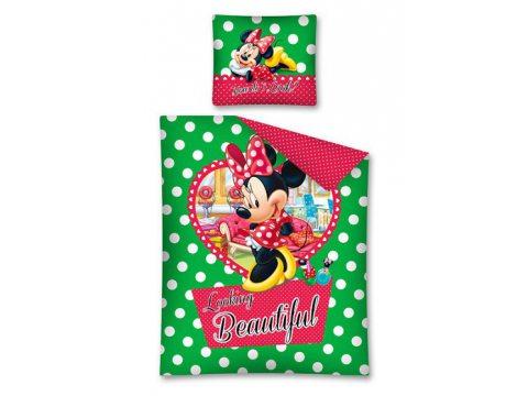 Komplet pościeli dziecięcej Mickey Mouse / Myszka Minnie 160x200  STC 12 A