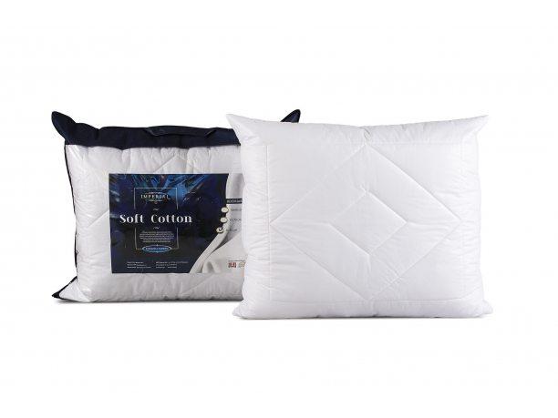 Poduszka Imperial Soft Cotton antyalergiczna 70x80 AMW z zamkiem