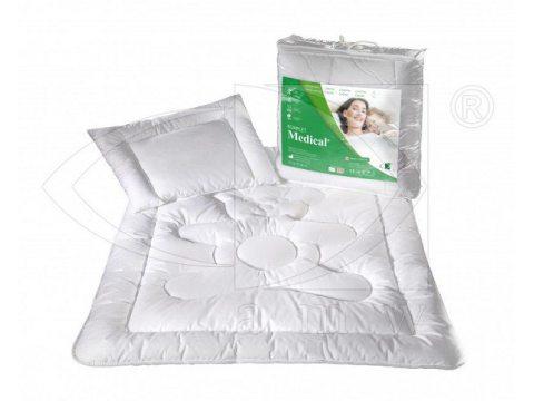 Komplet Kołdra antyalergiczna Medical 100x135 + poduszka 40x60  AMW  do łóżeczka