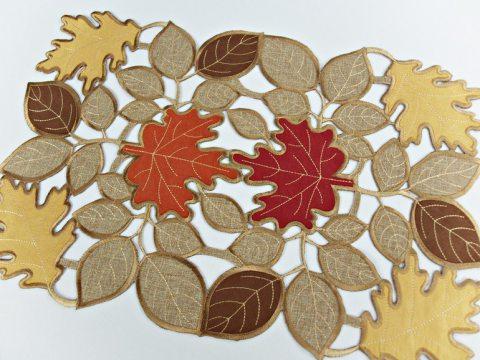 Serwetka  - 30 x 45 -brązowa - Jesień - 16511