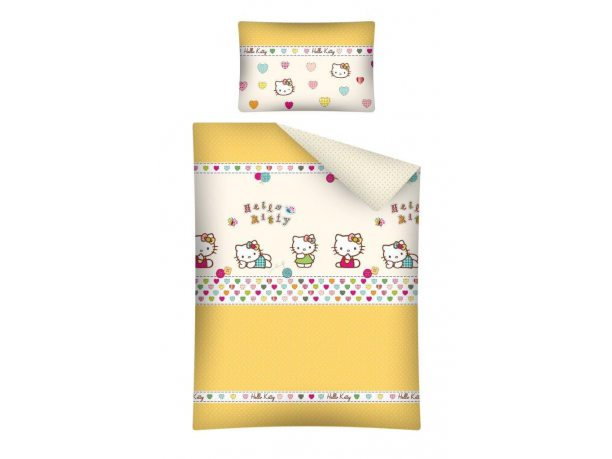 Komplet pościeli dziecięcej 100x135  Hello Kitty HK 14B