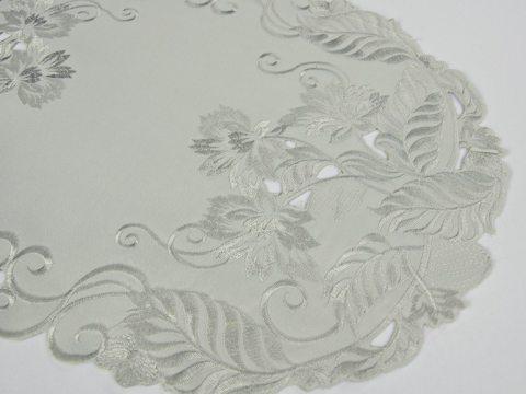Serwetka haftowana Popielata 30 x 45 cm  wz. 1684